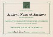Fashion / Photographic / Media Make-up Diploma
